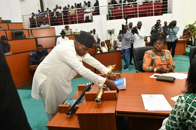 Infrastructure, education top priority as Diri presents N290.2bn Bayelsa 2021 budget