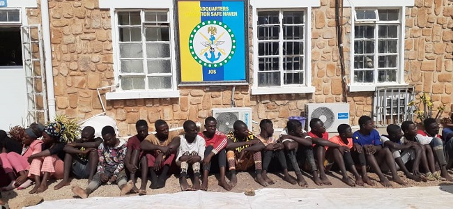 Special force parades 27 suspected cultists in Jos | Tribune Online