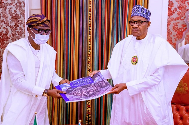 Buhari receives pictorial reports
