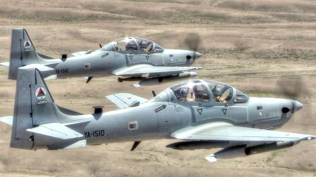 First batch of A-29 Super Tucano Aircraft departs US for Nigeria
