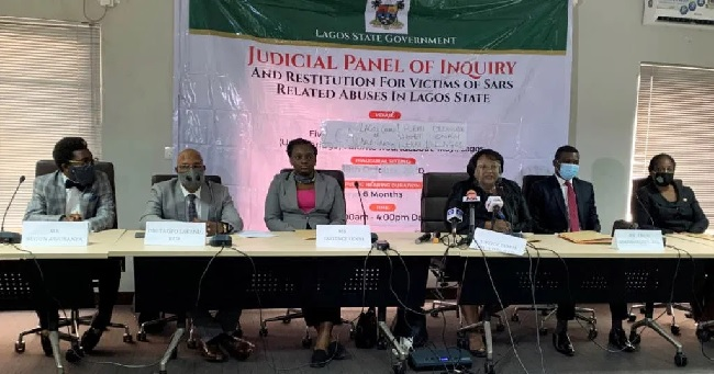 Lagos judicial panel,Evans' sister, Police tells Lagos panel, Police shot me