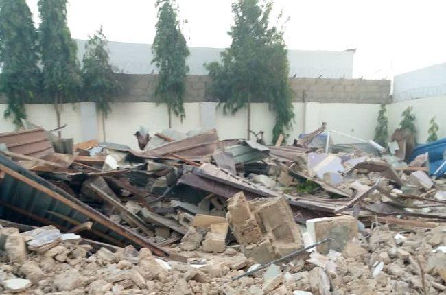 Kano govt demolishes apartment