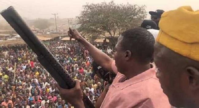Sunday Igboho storms Ibarapa against Fulani bandits   Tribune Online