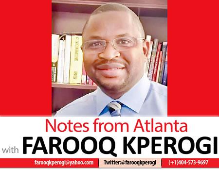 Kyari power APC Igboho Buhari Fulanisation CoAS appointment Dementia Kabiru Yusuf My outrage fatigue Pantami hijab, Farooq Kperogi promoted