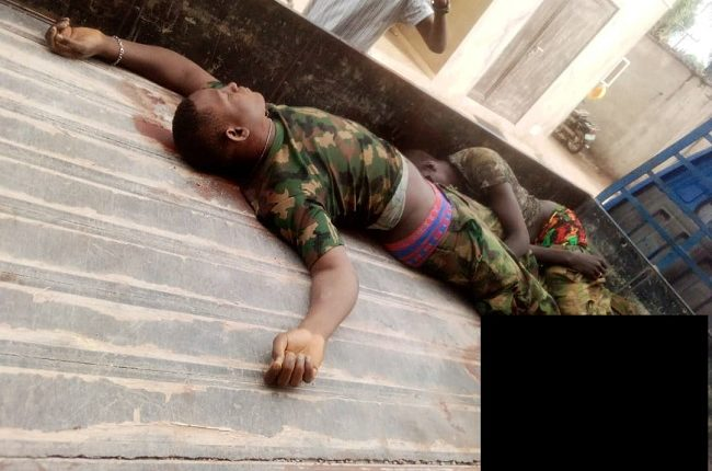 Gunmen kill four soldiers, three policemen, cart away arms in Anambra |  Tribune Online