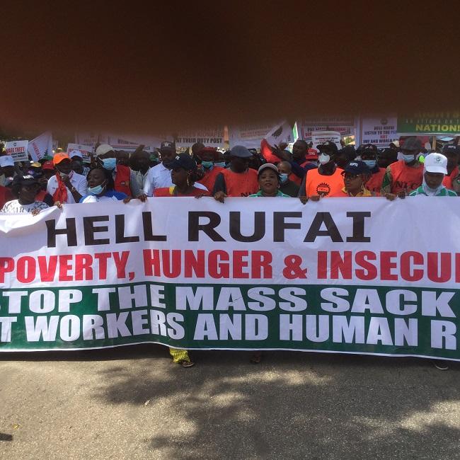 Kaduna as Labour strike