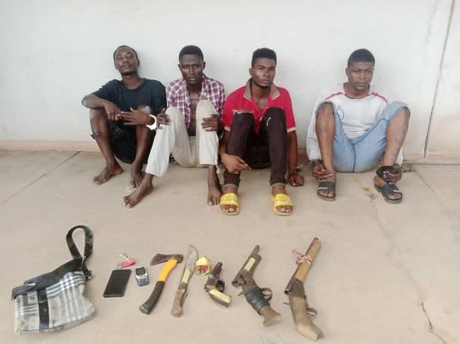 Oyo police arrest four