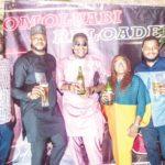 Mr Macaroni support Odunlade