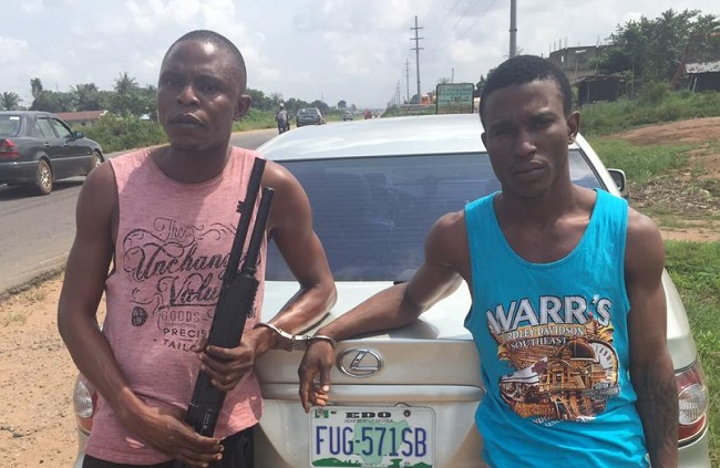 nab two suspected cultists