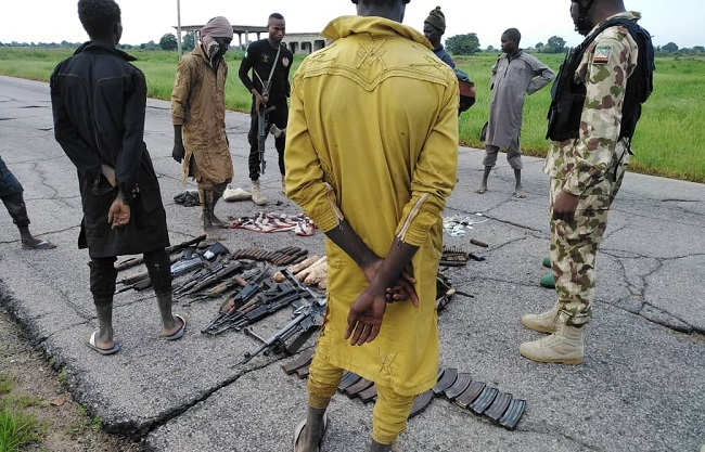 Several Boko Haram, ISWAP fighters, families surrender to troops in Borno