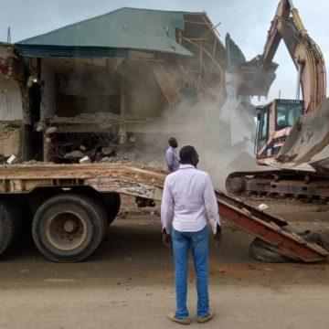 Worship centres demolished