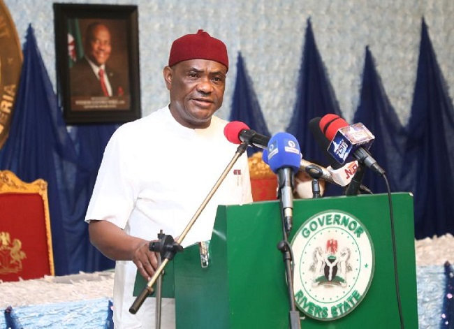 Wike kicks as FG excludes Rivers from states to benefit from planned new loans