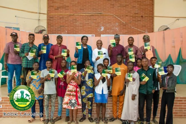 Fayemi charges students to embrace reading culture