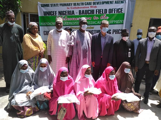 Gombe takes stock of medical equipment through UNICEF to promote MNCH in Kwami LGA