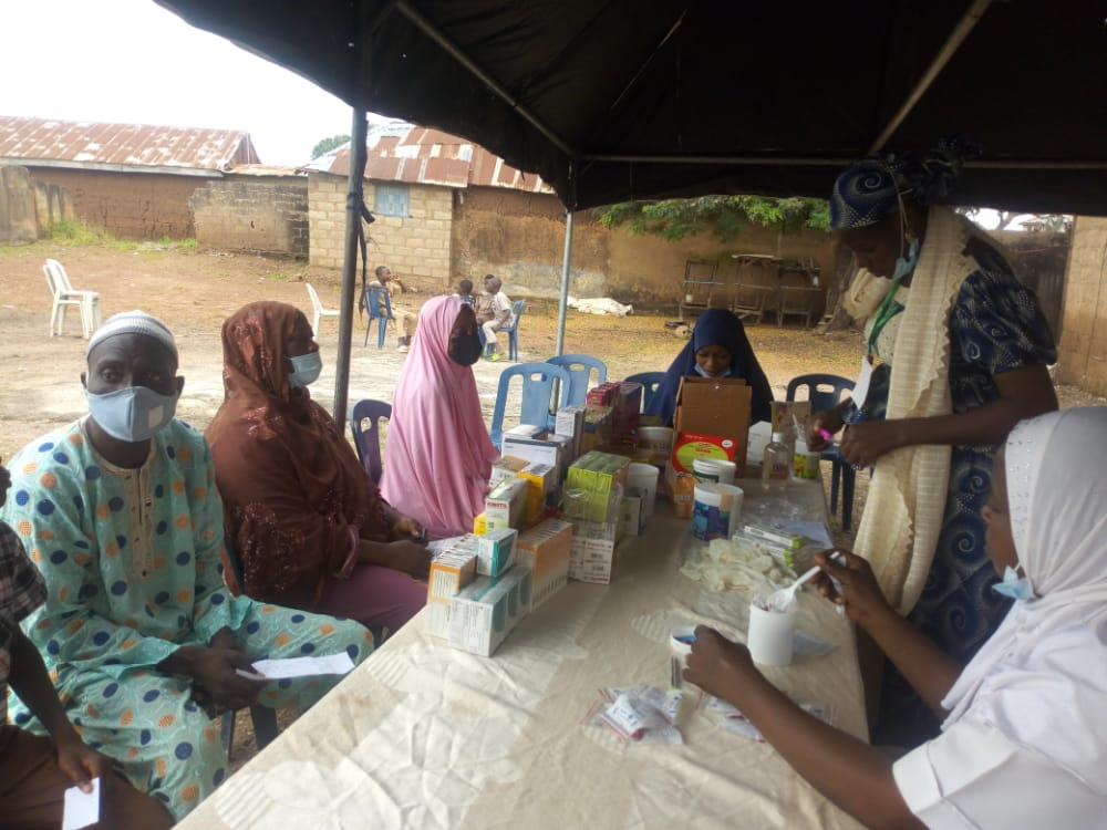 Over 300 indigents benefit from free medical services in Ilorin