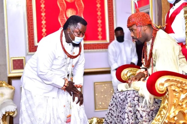 Promote values of integrity that will showcase Warri kingdom in good light, Olu of Warri charges Chiefs