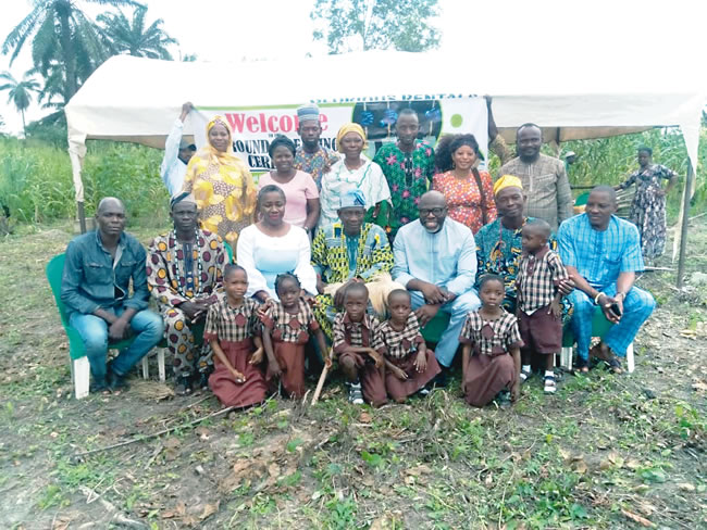 When Idogo community got education facelift from Relume foundation