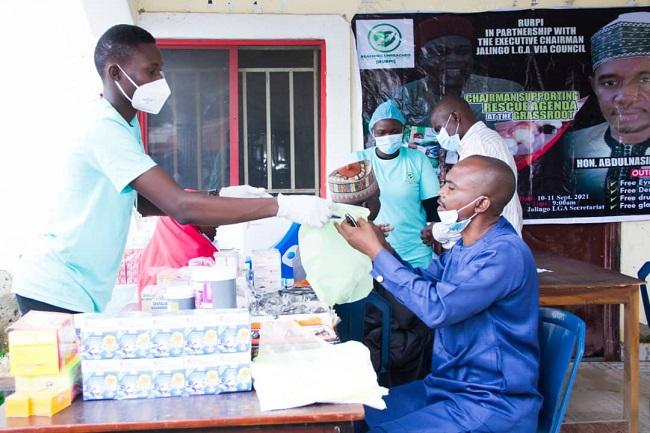 NGO offers free eye care treatment to 835 indigent people in Taraba