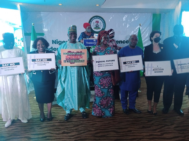 Senate President, Emir of Keffi, others urge lawmakers to pass women special seat bill
