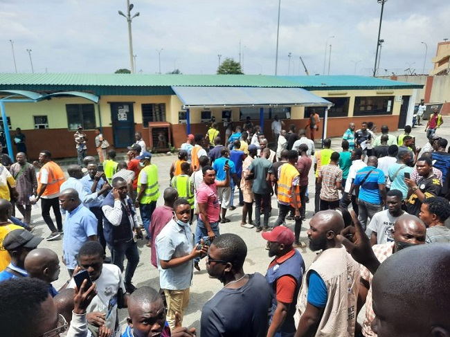 Tension in Tin-Can ports as agents shutdown Five-Star Logistics terminal operation