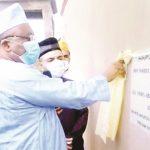 Ahmadiyya leader inaugurates projects