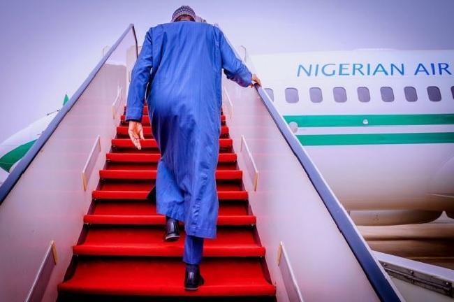 Buhari leaves for Riyadh investment summit, Lesser Hajj
