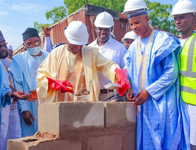 Inuwa lays foundation for Tsangaya mega school in Gombe, reiterates commitment to standardized education