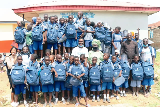 Education support: NGO partners financial institution